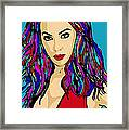 Beyonce Crazy In Love Framed Print