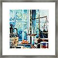 Beyond The Shadow Of Doubt Framed Print