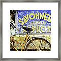Bicycle 01 Framed Print