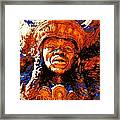 Big Chief Tootie Framed Print