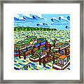 Big Dock - Cedar Key Framed Print