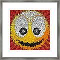 Big Happy Smile Framed Print