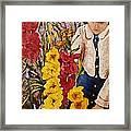 Billies Garden Framed Print