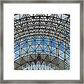 Biosphere2 - Arched Stucture Framed Print