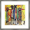 Birds 738 - Marucii Framed Print