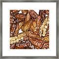 Bird's Eye Chilli Peppers Framed Print