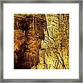 Blanchard Springs Caverns-arkansas Series 05 Framed Print