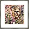 Blind Beauty Framed Print