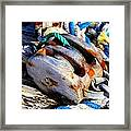 Block And Tackle - Square - Ropes Framed Print