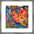 Blossoms Aglow Framed Print