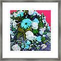Blue Bouquet Framed Print