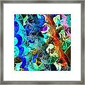 Blue Chain Framed Print by Julio Haro