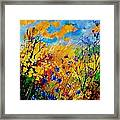 Blue Cornflowers 450408 Framed Print