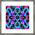 Blue Echo Framed Print