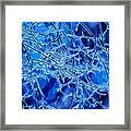 Blue Imbue 2 Framed Print