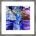 Blue Maqical Sensualism Framed Print