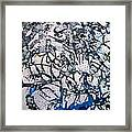 Blue Mind Framed Print