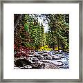 Blue River Framed Print by Sergio Aguayo