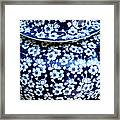 Blue Vase Framed Print