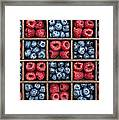 Blueberries And Raspberries  Framed Print by Tim Gainey
