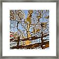 Blurred Reality Framed Print