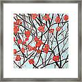 Blushing Blossoms Framed Print