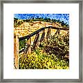 Boardwalk Steps Framed Print by Anthony Citro
