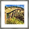 Boardwalk Steps Framed Print