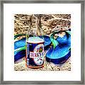 Boat Drinks Framed Print