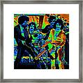 Boc #43 Enhanced In Cosmicolors Framed Print