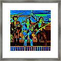 Boc #47 Enhanced In Cosmicolors 2 Framed Print