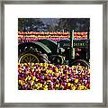 Bogged Down By Color Framed Print