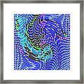 Bold And Colorful Phone Case Artwork Designs By Carole Spandau Cbs Art Angel Fish 112 Framed Print
