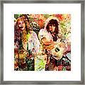 Bon Jovi Original  Framed Print