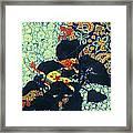 Botanical Klimt Framed Print