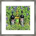 Bottles Of Wine Framed Print