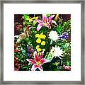 Bouquet Bounty Framed Print
