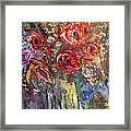 Bouquet De Chez Moi 04 Framed Print