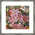 Bouquet From Exhibition Framed Print