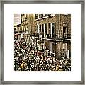 Bourbon Street Party Framed Print