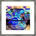 Bowl Of Marbles Framed Print