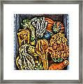 Box Of Gourds Framed Print