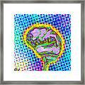 Brain Pop Framed Print