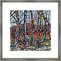 Branching Out Framed Print by Deborah Glasgow