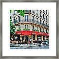 Brasserie De L'isle St. Louis Paris Framed Print