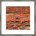 Brick Scarp Walls And Casement Gallery Framed Print