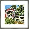 Bridge To Yesterday Framed Print