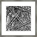 Bridging Books Framed Print