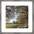 British Autumn Framed Print