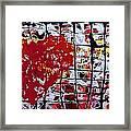Broken Heart 2 Framed Print
